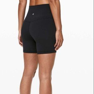 "NWT Lululemon Align 6"" 6 Inch Shorts in Black"
